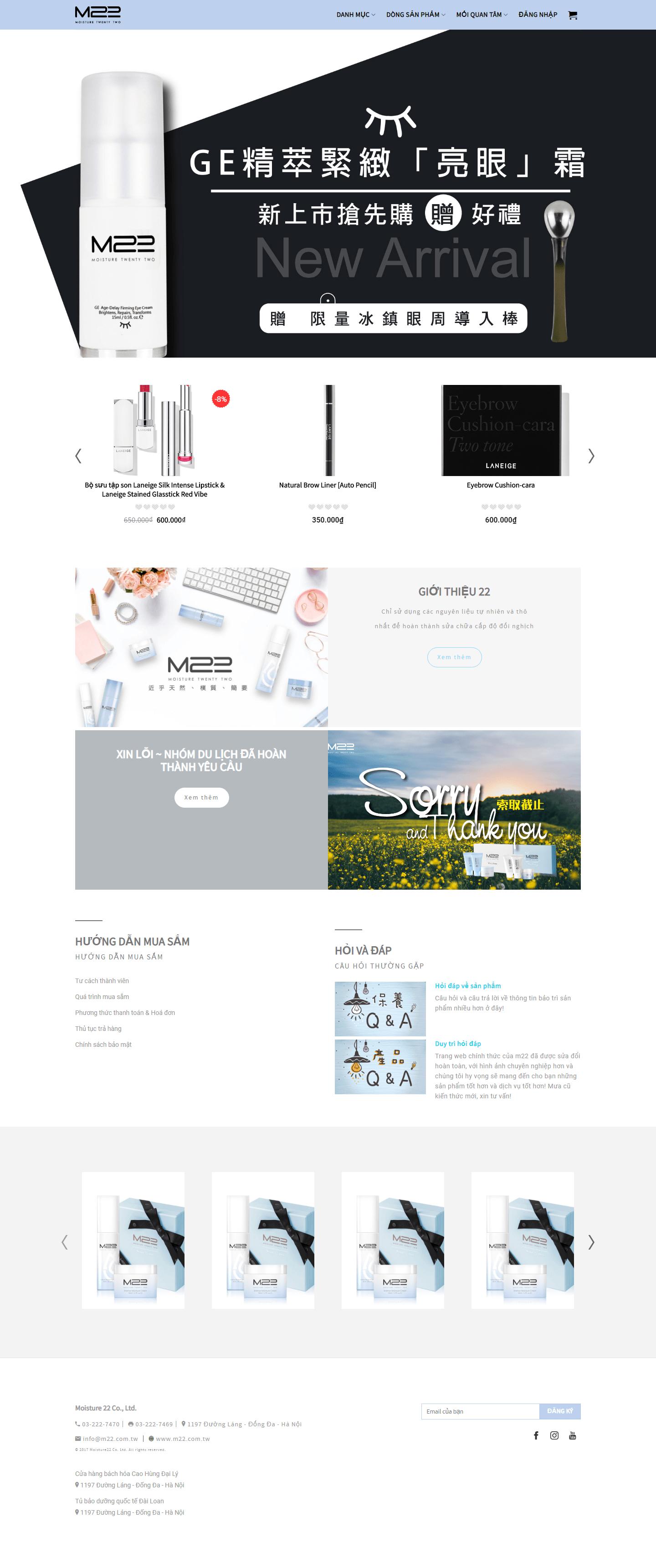 Mẫu 165 – Website Bán hàng